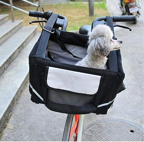 XXYMCB Alforja para Bicicleta portátil para Perros pequeños con ...