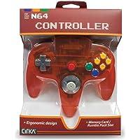 CirKa N64 Controller: Fire Red for Nintendo 64