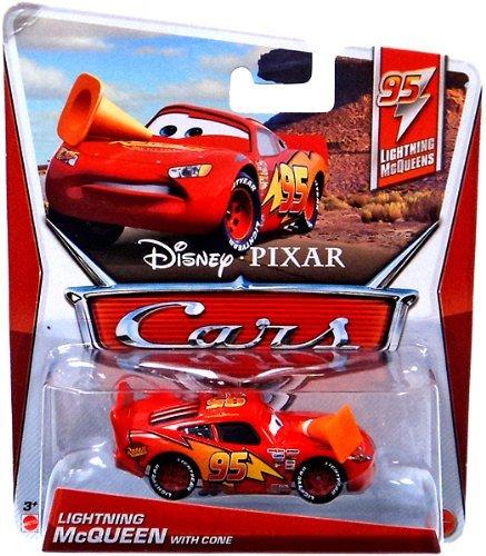 1 Mcqueen Cone Disney Echelle Cars Pixar 55 Miniature With Voiture 2 Lightning nkX8OP0w