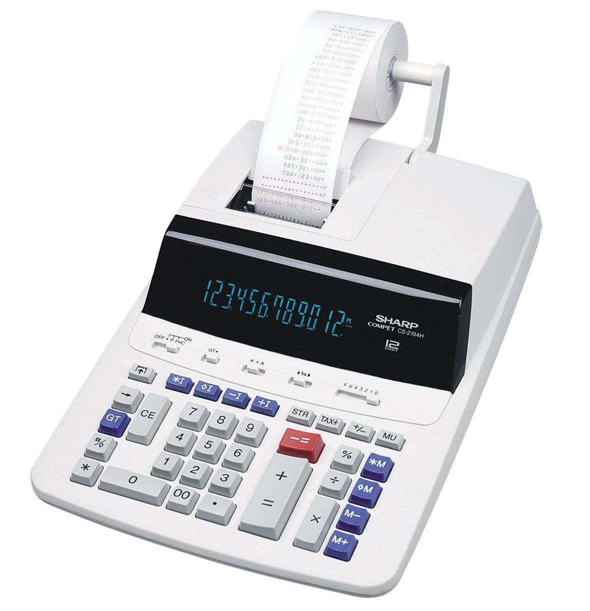 Sharp 10 Digit Printing Calculator Model CS1194H by Sharp