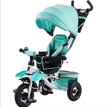 Carrito de bebé Triciclo del bebé del Triciclo de la ...