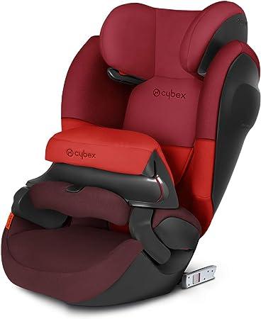 Oferta amazon: Cybex - Silla de coche grupo 1/2/3 Pallas M-Fix SL, silla de coche 2 en 1 para niños, para coches con y sin ISOFIX, 9-36 kg, desde los 9 meses hasta los 12 años aprox.Rumba Red