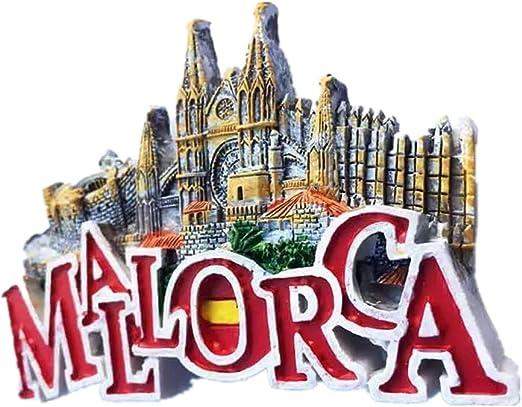 Weekinglo Souvenir Imán de Nevera Búho Mallorca España 3D Resina ...