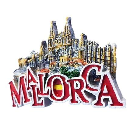 Weekino Souvenir Palma Catedral Mallorca España Imán de Nevera ...