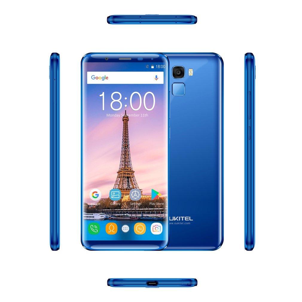 OUKITEL K5000 - Móviles Libres 4G (Android 7.0 Pantalla de 5.7 FHD 18:9,Cámara Trasera de 16.0MP 64GB de ROM,4GB de RAM, MTK6750T 1.5GHz Octa Core, ...