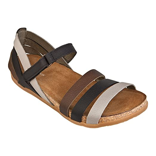 Fast Delivery El Naturalista Women's Zumaia NF42 Womens Black Mixed Grain El Naturalista Womens Sandals