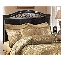 Signature Design by Ashley B104-77 Constellations Sleigh Headboard, Queen