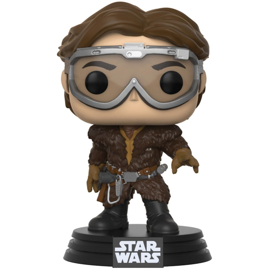 BCC9428H3 Funko Han Solo A Star Wars Story Vinyl Figure Target Exclusive #248 // 26972 POP x Solo 1 Official Star Wars Trading Card Bundle
