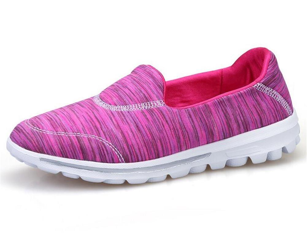 XIE Frauen/Damen Netz Garn Breathable Weaving Niedrig to Help Peas Schuhe Komfortable Casual Schuhe