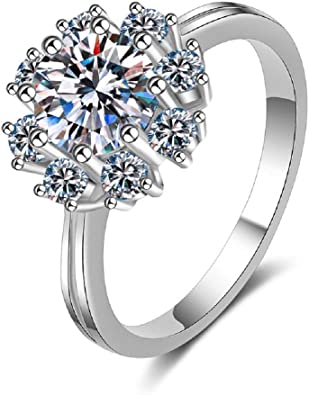 White Topaz Gemstone solid 925 sterling silver Ring Jewellery women /& Girls proposal promise anniversary engagement wedding Valentine  Ring.