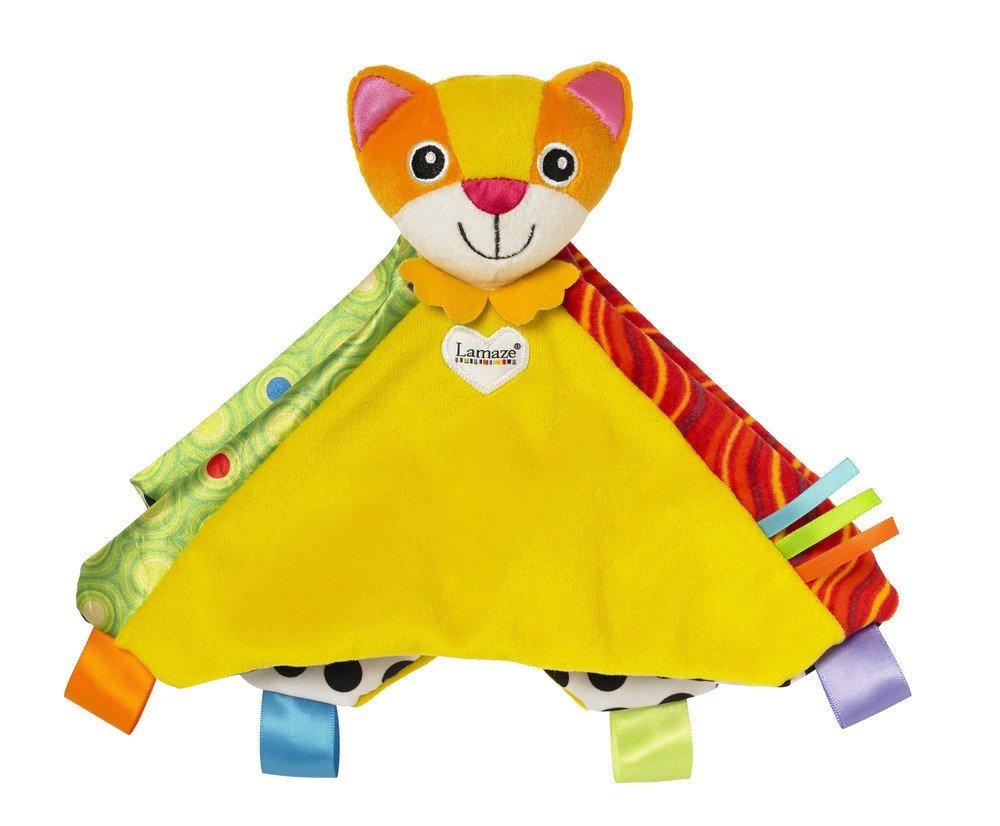 Lamaze LC27623 - Mantita de arrullo, diseñ o gatito Mittens, color naranja diseño gatito Mittens Tomy Spain