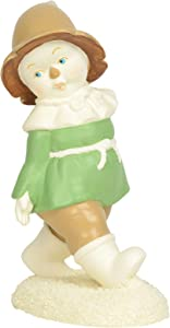 Department 56 Snowbabies Guest Collection The Wizard of Oz Only had a Brain Figurine, 4.25 Inch, Multicolor