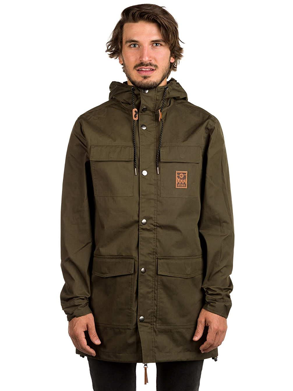 Herren ParkaBekleidung Etnies Manchester Etnies Jacke Herren 8O0knPXwNZ