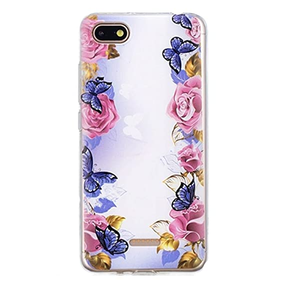 687edb400e Amazon.com: TPU Case for Redmi 6A A6 Soft Silicone Case Mobile Phone ...