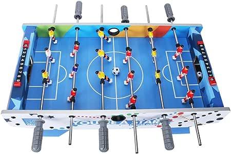 Futbolines Máquina de fútbol de mesa de 6 asientos Juguetes para niños Fútbol de mesa para niños Juguete educativo para niños Juguete de regalo para niños de 3-10 años Regalo Máquina de