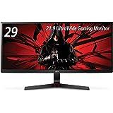 LG ゲーミング モニター 29UM69G-B 29インチ/21:9 ウルトラワイド/IPS非光沢/1ms(MBR)/スピーカー/USB Type-C・DisplayPort・HDMI