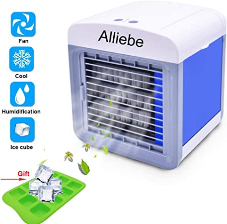 Alliebe Personal Air Cooler Mini Portátil Aire Acondicionado ...