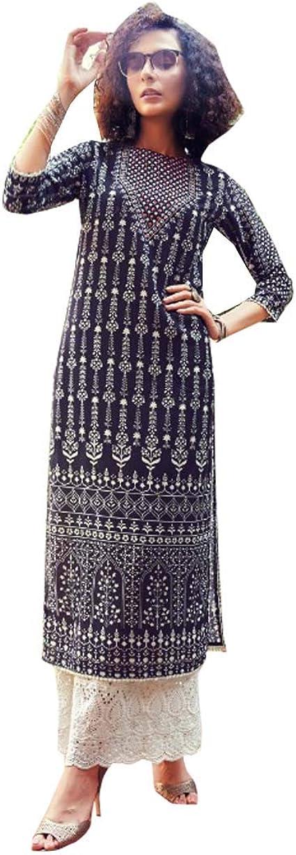 HEAVY Rayon EMBROIDERY ANARKALI kurti Designer Heavy EmbroideryPant Set  Kurti  Anarkali Kurti  Kurti Set  Designer Dresses  