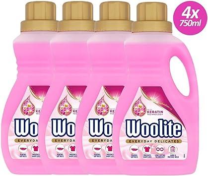 Woolite - Detergente para prendas delicadas, lavado a mano y a ...