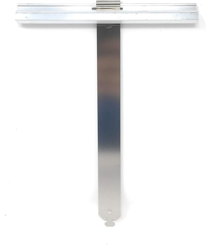 Lot de 10 éléments de fixation Maxi En aluminium Pour volets, stores, volets roulants Avec ressort en acier