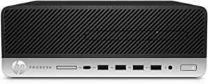 HP Prodesk 600 G4 Computer with 4.1 GHz Intel Hexa-core i5 Processor, 512 GB SSD/8 GB RAM/HDMI Flex/DVDR (Small Form Factor PC) - Windows 10 Pro