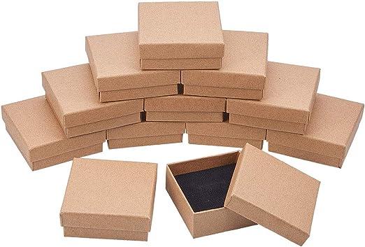 NBEADS Caja, 16 Piezas 7 Cm/2.7 Pulgadas Cuadrado Burlywood ...