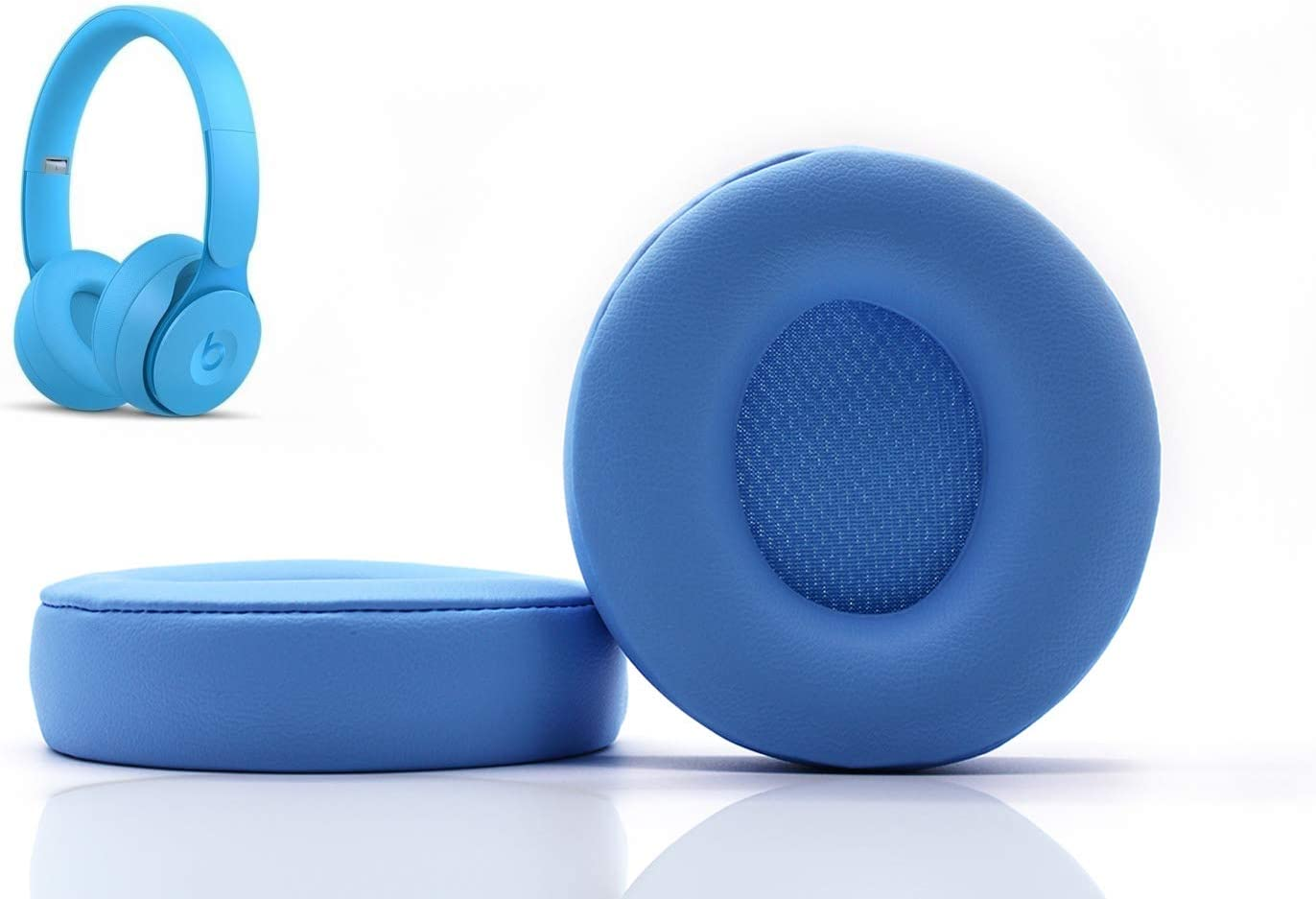 Almohadillas para Auriculares Beats Solo pro (celeste)