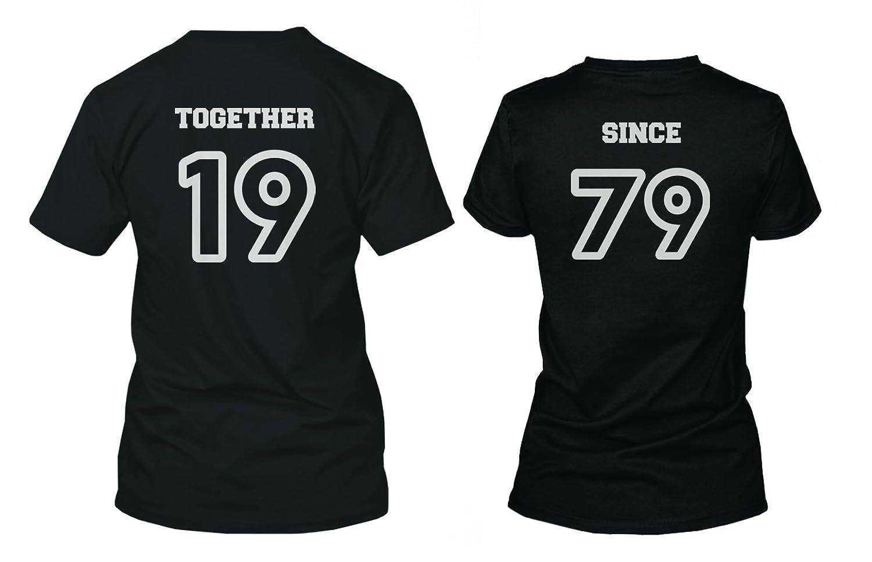 Amazon Custom Couple Shirts Together Since Cute