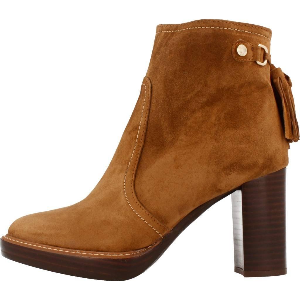ALPE BOTIN CERCO CAMEL, Tacon medio, Cuero 305311 02: Amazon.es: Zapatos y complementos