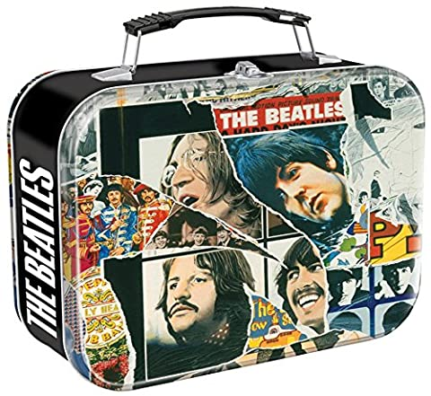 Vandor 64070 The Beatles Anthology Large Tin Tote, Multicolored (Beatles Gifts For Kids)