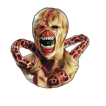 Némesis RESIDENT EVIL Látex Máscara Zombie