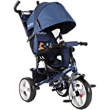 Evezo Turk 4-in-1 Stroller and Trike (Blue)