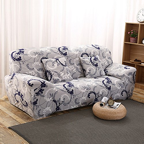 Slipcovers Patterned (3 Seater Sofa Slipcover Couch Stretch Cover Furniture Protector by Yunhigh - Patterned)