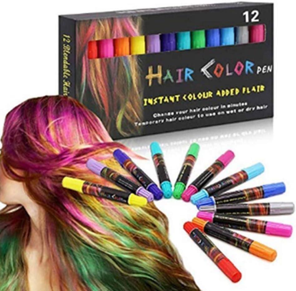 Juego de bolígrafos Qianren Hair Color para niñas, bolígrafos ...