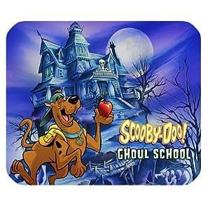 Popular Cartoon Scooby Doo Well-designed Standard Rectangle Black Mouse Pad