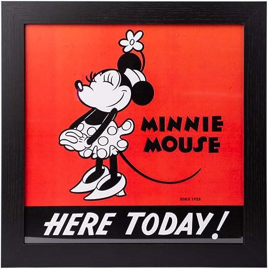 Grupo Erik Cuadro Infantil Disney Minnie 90, 30x30 cm: Amazon.es ...