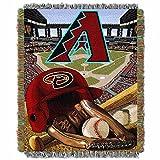Diamondbacks OFFICIAL Major League Baseball, Home Field Advantage 48x 60 Woven Tapestry Throw