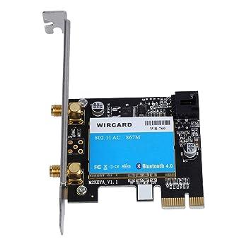 Amazon.com: Bewinner 2.4G/5G Dual Band PCI Express Wireless ...