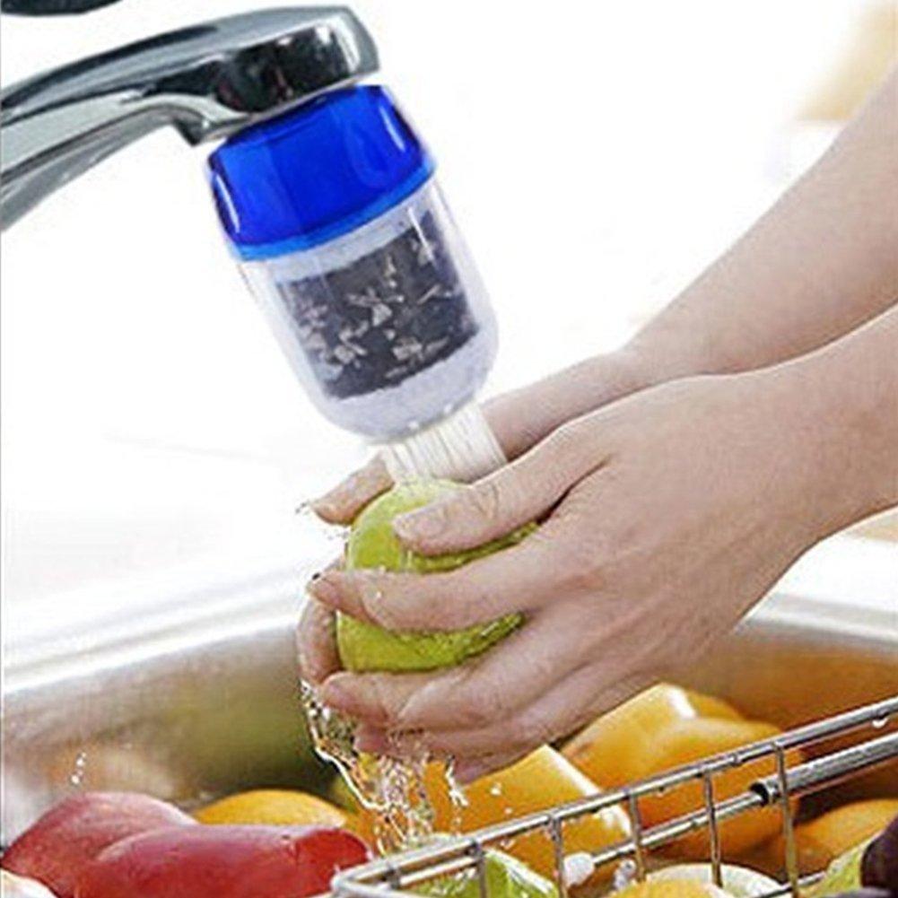 Woopower rubinetto della cucina filtro acqua purificatore per acqua potabile sana Carbone attivo acqua di rubinetto purificatore
