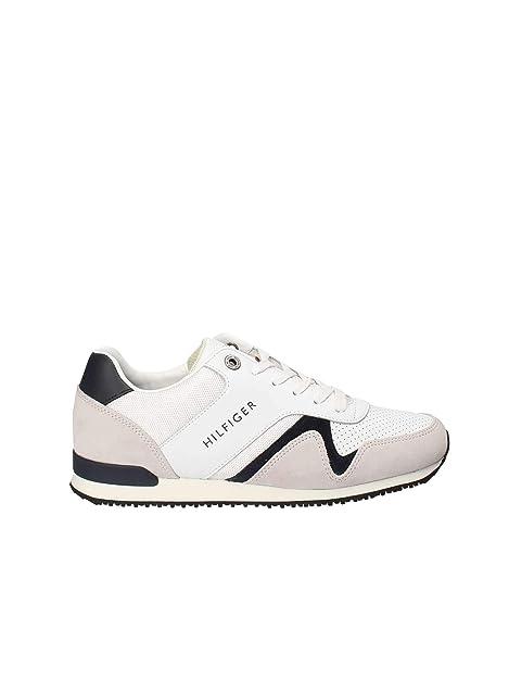 Tommy Hilfiger FMOFMO1732 Sneakers Uomo Bianco 40 56db7773ef1