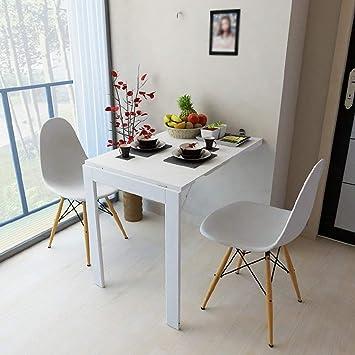Table Muraletable De Cuisine Convertible En Forme De Goutte Pour