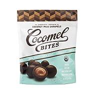 COCOMELS Organic Sea Salt Chocolate-Covered Bites, 3.5 OZ