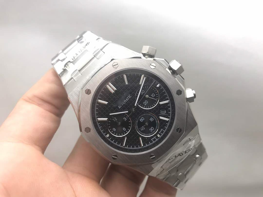 My_TimeZone Luxury Brand Top quality stainless steel Japanese quartz chronograph watch watches by A_P