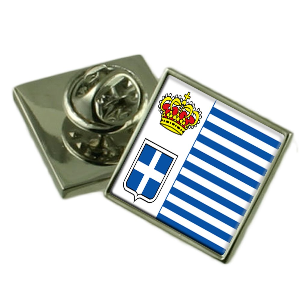Seborga Flag Lapel Pin Badge Solid Silver 925