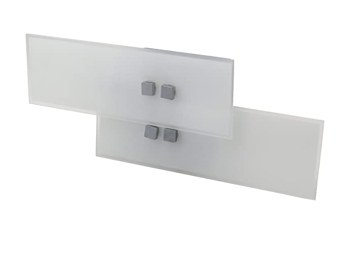 Applique led da parete modello mercury italian design moderna w