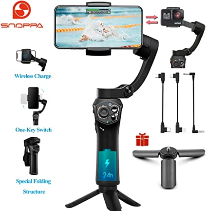Snoppa Atom Estabilizador Smartphone Gimbal de mano plegable de ...