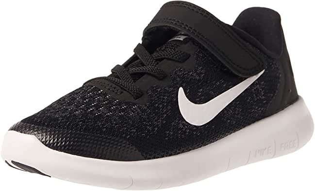 Nike Free Run 2017 (PSV) Running Shoe For Kids (Black - 28 EU)