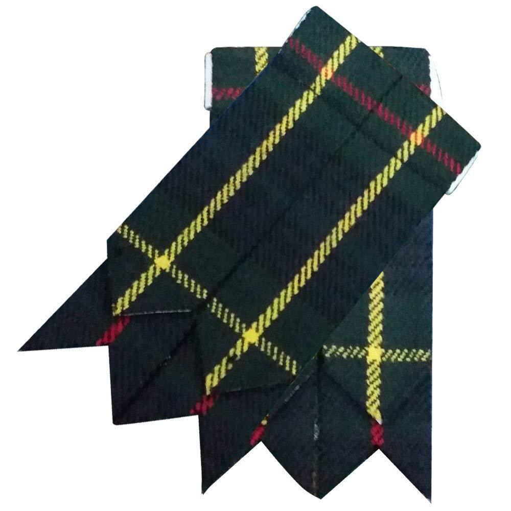 Highland Kilt Falda Escocesa Calcetines Bandas Varios Tartanes Hose Bandas Punta Afilada
