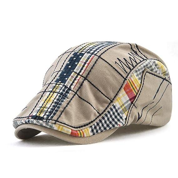 Impression 1 PCS Boinas Ocio Retro Hat Gorra de Golf Sombrero de Sol  Deporte al Aire Libre Primavera Verano para Unisex Hombre Mujer (A)   Amazon.es  Ropa y ... 45e5c7aa16d