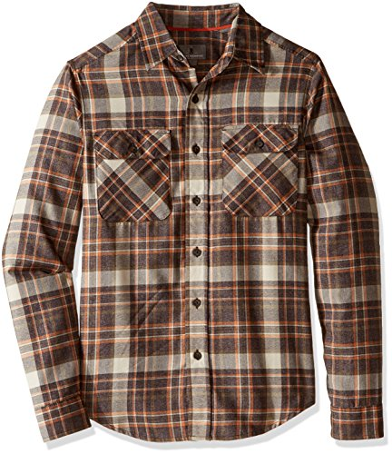 Royal Robbins Performance Flannel Plaid Long Sleeve Shirt